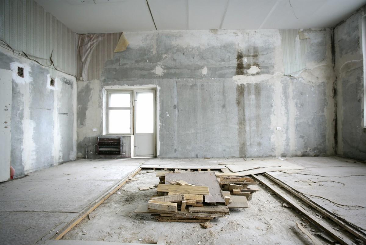 Капитальный ремонт помещений в Калининграде