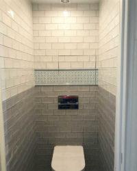 Ремонт туалета хрущевка фото